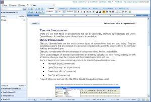 Zoho Writer Word Processor