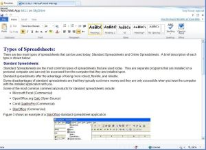 Microsoft Office Web Apps - Word