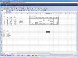 ThinkFree Spreadsheet